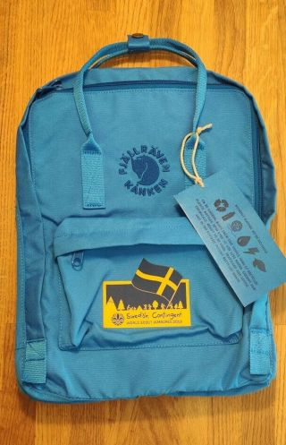 Swedish Contingent Backpack From 24th World Scout Jamboree 2019
