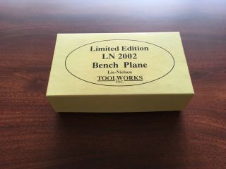 Lie Nielsen No.  2002 (No.  1),  Limited Edition Wood Plane,  124 of 500 6