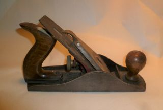 Vintage Miller Falls No.  10 Plane Corrugated Bottom Usa
