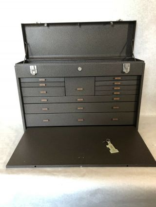 Kennedy Machinist Tool Box Chest,  Model 52611,  11 Drawer,