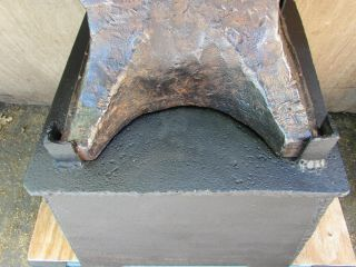 American Wrought Blacksmith Anvil Circa 1899 - 1910,  Well.  240 lbs 5