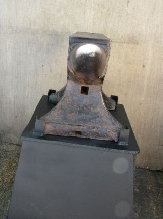 American Wrought Blacksmith Anvil Circa 1899 - 1910,  Well.  240 lbs 6
