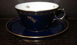 20th Century Sevres French Porcelain Cup & Saucer Ex Harold Wilson / De Gaulle 3