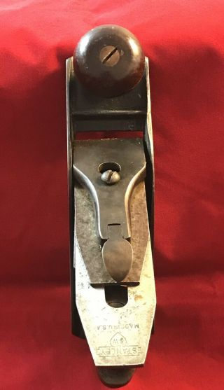 Stanley No.  1 Bench Plane SW Sweetheart Vintage RARE 5