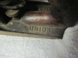 Vtg.  Union MFG Co.  X No.  4 1/2 Plane (Pat.  12 - 8 - 03) Complete see pictures 5