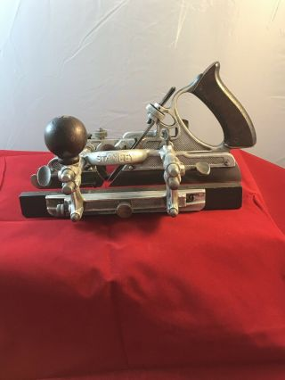 Rare Stanley no.  A45 Aluminum Combination Plane Sweetheart Era 3