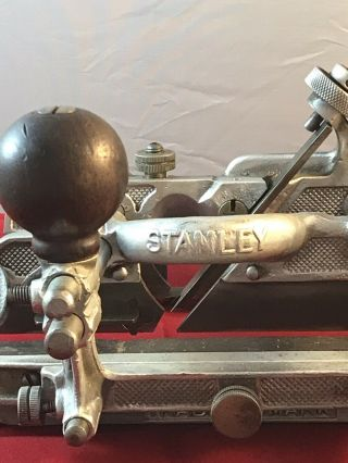 Rare Stanley no.  A45 Aluminum Combination Plane Sweetheart Era 8