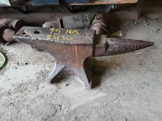 95 Lb Peter Wright Blacksmith Anvil