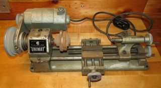 American Edelstaal Unimat Sl Db 200 Lathe With U90 Spindle Motor,  Cond.