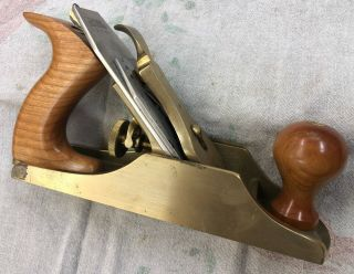 Lie - Nielsen No.  4 Smoothing Plane,  Bronze. ,  Nearly.