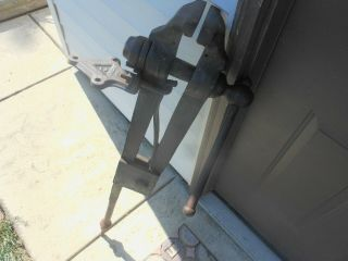 Vintage Columbian Post Vice Antique Blacksmith Tool 6 1/4 Inch Jaw