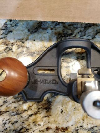 Lie Nielsen L - N 71.  No.  71 Large Router Plane Looks To Be