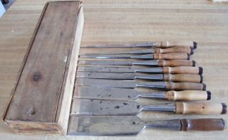 Witherby Chisels W/ Box