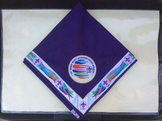 2019 World Scout Jamboree Official Purple Planning Committee Neckerchief