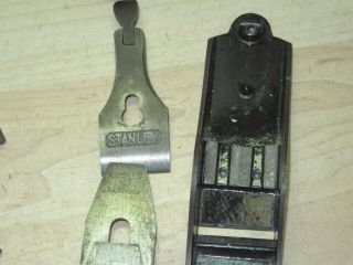 Old Stanley 1 smooth plane solid collectible tool example sweet heart era 9