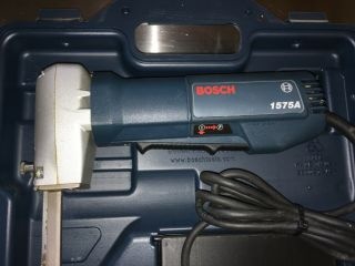 in case BOSCH 1575A COSPLAY TOOL Foam,  Rubber,  Latex Saw,  extra Blades,  foot 5