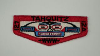 Tahquitz Lodge 127 F1a First Flap Boy Scout Oa