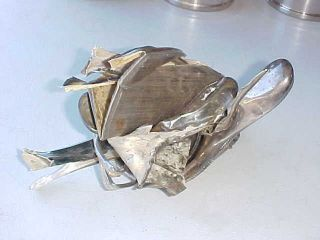 Sterling Silver - 925 - Sterling Silver Scrap - 596 Grams - Scrap - Crafts - Jewelry - Invest
