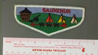 Boy Scout Oa 504 Suakenauk First Flap 4744hh