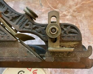 Millers Patent Adjustable Patent Plow Plane No.  41 As Found 9