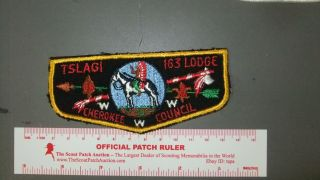 Boy Scout Oa 163 Tslagi First Flap 1174ii