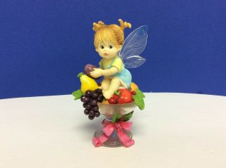 My Little Kitchen Fairies Sugar Plum Fairie Year 2004 Figurine