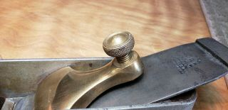 SPIERS AYR STEEL ROSEWOOD INFILL MITRE PLANE 6