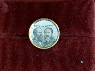 Campaign Pin Pinback Button Political Badge Election Local Garfield Advertising