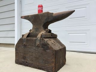 260 Lb Blacksmith Trenton Anvil Serial 37633 From 1890's 3