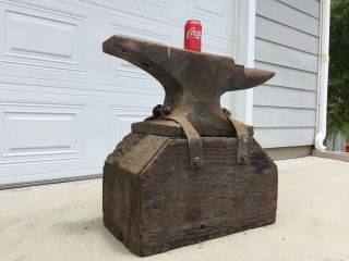 260 Lb Blacksmith Trenton Anvil Serial 37633 From 1890's 4