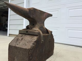 260 Lb Blacksmith Trenton Anvil Serial 37633 From 1890's 6