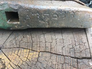 260 Lb Blacksmith Trenton Anvil Serial 37633 From 1890's 9