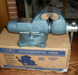 "Wilton Vise Machinist 3 "" 300s 10006 Perfect"