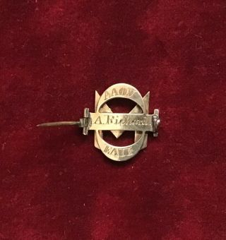 Sigma Phi Fraternity pin,  1860 2