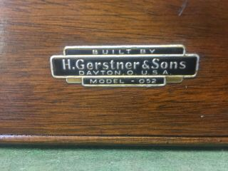 H.  Gerstner & Sons Tool Chest Model 052 7