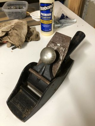 Stanley 74 Floor Plane With Handle - Dates 1886 - 1908