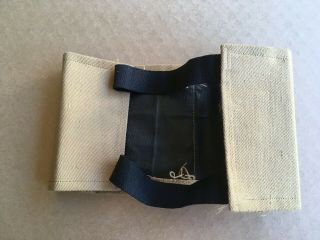 1st Issue 1910 ' s Tan Layman - Troop Commitee Armband Insignia Rank Patch 2