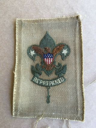 1910 1st Issue Scoutmaster Insignia Rank Patch