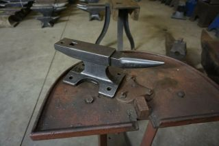 "19 Lb.  Blacksmith Made "" Rr Railroad Track Anvil "" Forge"