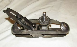 Stanley Victor No 20 Compass Plane / Circular Plane Old Woodworking Tool Plane