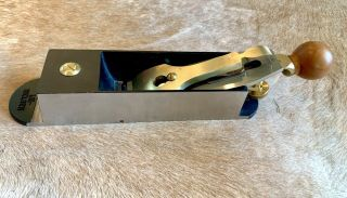 Lie - Nielsen L - N No 9 Iron Miter Plane.  VGC.  Barely with Hot Dog Handle. 6