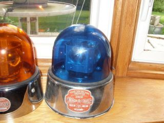 Federal Sign & Signal Corp.  Junior Beacon Ray Bubble Light Model 15 A Emergency
