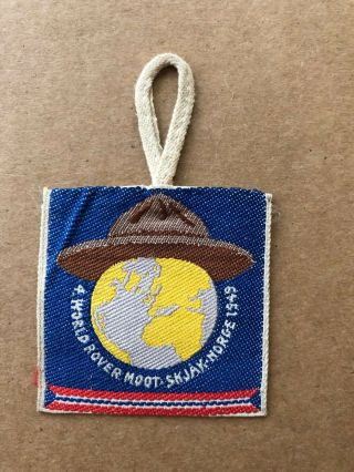 1949 World Scout Moot,  Skjak - Norge Participant Badege