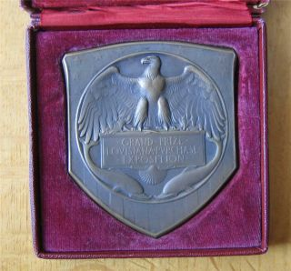 Grand Prize Medal Louisiana Purchase Exposition 1904 St Louis In Case