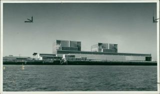 Hinkley Point C Nuclear Power Station - Vintage Photo