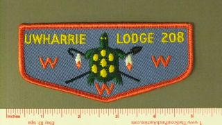 Boy Scout Oa 208 Uwharrie First Flap 1032ii