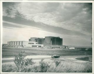 Bradwell Nuclear Power Station Has Been Placed Under Safeguards.  - Vintage Photo