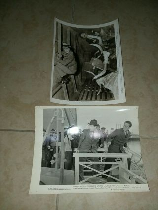 2 Vintage 8 X 10 Photos Of Harold Lloyd From Professor Beware Ds5085