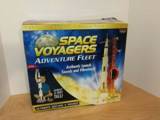 Space Voyager Mega Action Vehicle Ultimate Saturn V Rocket Tall Astronaut Apollo