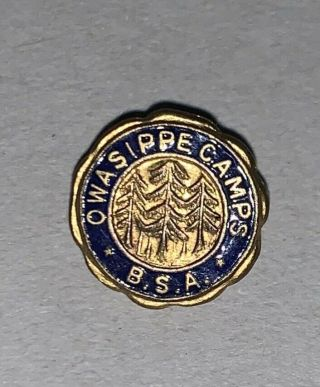 Owasippe Camp Pin 1920s